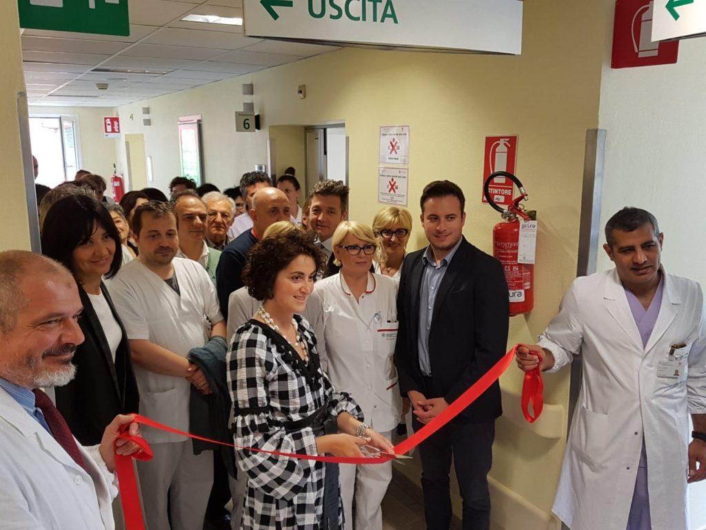 Inaugurazione dei locali dedicati al Day Hospital per i trapianti di polmone